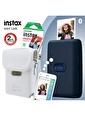 Fujifilm Instax mini Link Mavi Akıllı Yazıcı ve Çantalı Hediye Seti 3 Mavi